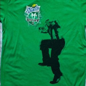Sprite Step off 2  We step as one graphic T-shirt